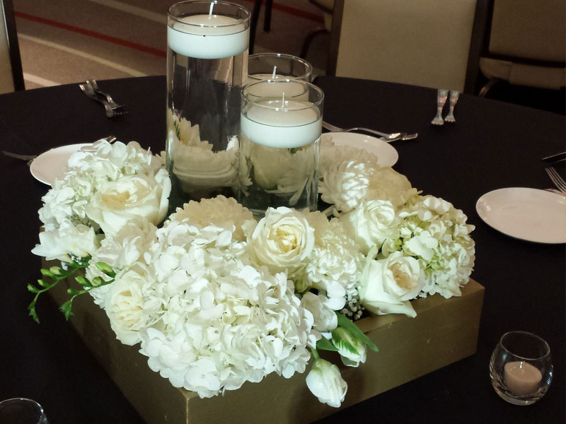 Wedding Flowers- Centerpiece