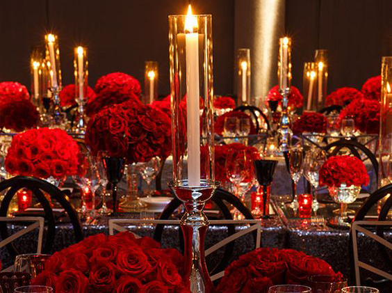 Romantic Wedding Flowers- Wedding Centerpieces